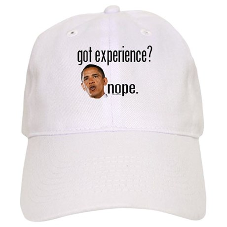 Barack Obama No Experience Cap