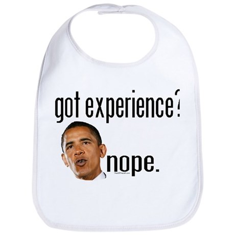 Barack Obama No Experience Bib