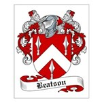 Beatson Family Crest Small Poster