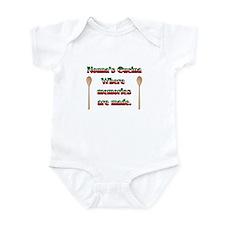 Nonna's (Italian Grandmother) Cucina Infant Bodysu