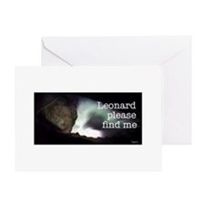 Leonard please find me Greeting Card