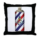 Mason Barber Throw Pillow