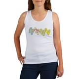 Flip Flop Row Women's Tank Top