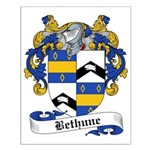 Bethune Family Crest Small Poster