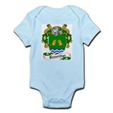 Beveridge Family Crest Infant Creeper