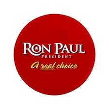 """Ron Paul 3.5"""" Button"""