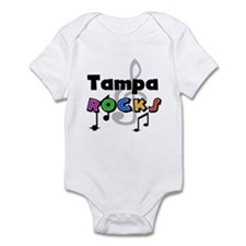Tampa Rocks Infant Bodysuit