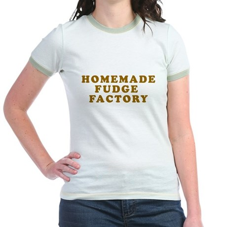 Homemade Fudge Factory Jr Ringer T-Shirt