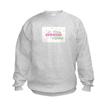 Georgia Jr. Miss Kids Sweatshirt