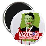 Vote Zombie Reagan in 2008 Magnet