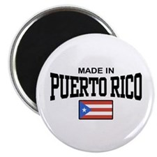 Made in Puerto Rico Magnet