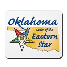 Oklahoma Eastern Star Mousepad