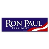 Ron Paul for President Bumper Sticker (blue)