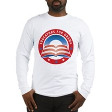 Educators for Obama Long Sleeve T-Shirt