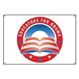 Educators for Obama Banner