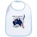 Cute National flag Bib