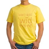 World Wide $ Yellow Tee