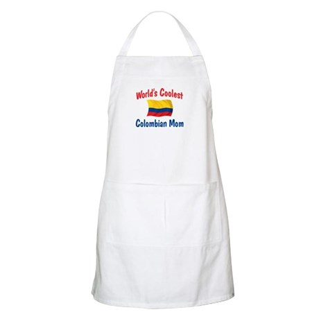 Coolest Colombian Mom BBQ Apron
