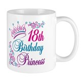 18th Birthday Princess Mug