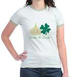 Garlic & Gaelic Jr. Ringer T-Shirt