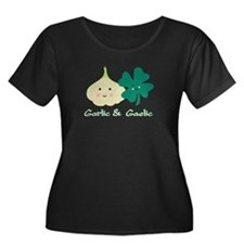 Garlic & Gaelic Women's Plus Size Scoop T-Shir
