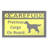 Precious Cargo Gordon Setter Sticker (Rect)