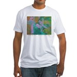 Tuscan Garden Fitted T-Shirt