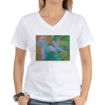 Tuscan Garden Women's V-Neck T-Shirt