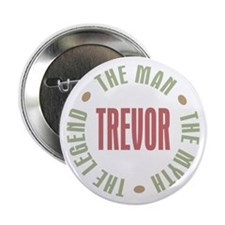 "Trevor Man Myth Legend 2.25"" Button (100 pack)"