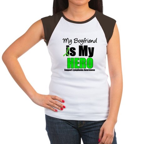 Lymphoma Hero (Boyfriend) Women's Cap Sleeve T-Shi