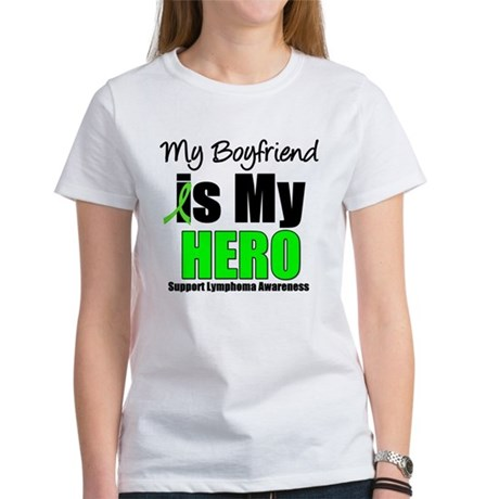 Lymphoma Hero (Boyfriend) Women's T-Shirt
