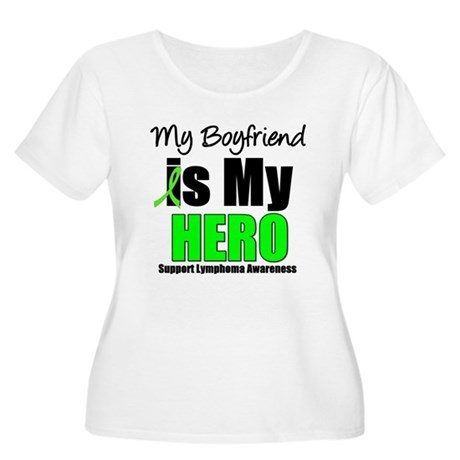 Lymphoma Hero (Boyfriend) Women's Plus Size Scoop