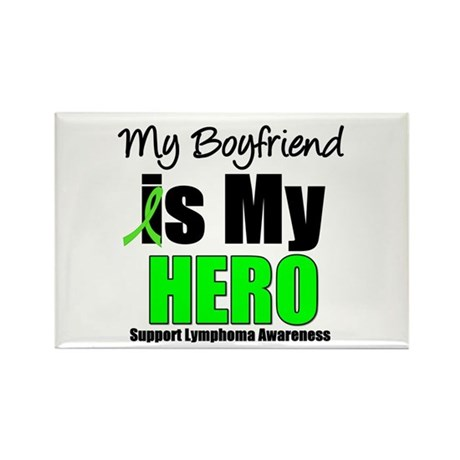 Lymphoma Hero (Boyfriend) Rectangle Magnet