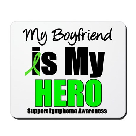 Lymphoma Hero (Boyfriend) Mousepad