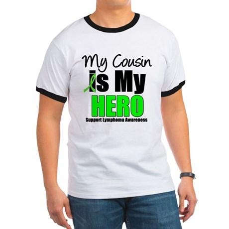 Lymphoma Hero (Cousin) Ringer T