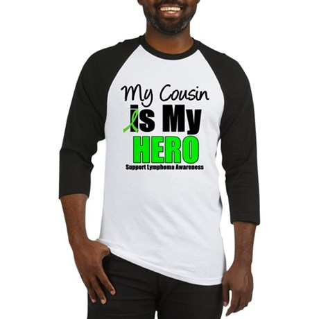 Lymphoma Hero (Cousin) Baseball Jersey