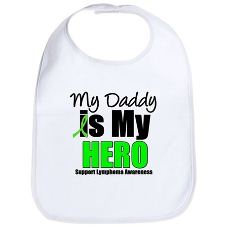 Lymphoma Hero (Daddy) Bib