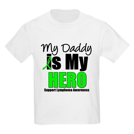 Lymphoma Hero (Daddy) Kids Light T-Shirt