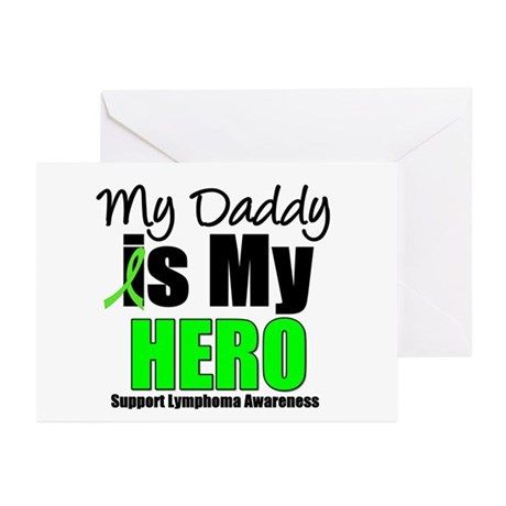 Lymphoma Hero (Daddy) Greeting Cards (Pk of 10)
