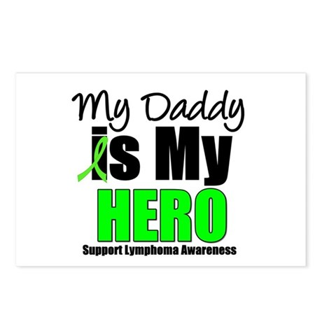 Lymphoma Hero (Daddy) Postcards (Package of 8)