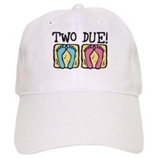 Two Due! Baseball Cap
