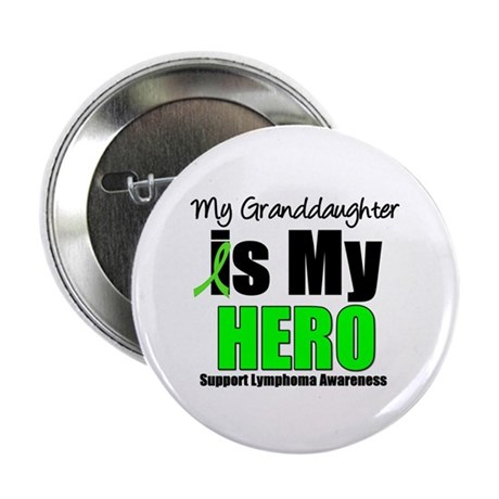 "Lymphoma Hero (GD) 2.25"" Button (10 pack)"