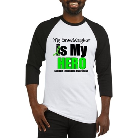 Lymphoma Hero (GD) Baseball Jersey