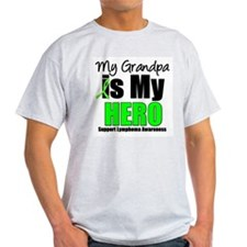 Lymphoma Hero (Grandpa) T-Shirt