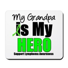 Lymphoma Hero (Grandpa) Mousepad