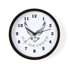 USAF Symbol Wall Clock