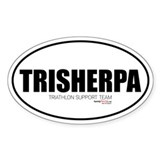 TriSherpa Oval Decal
