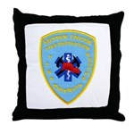 Sutter Creek Fire Throw Pillow