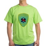 Sutter Creek Fire Green T-Shirt