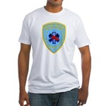 Sutter Creek Fire Fitted T-Shirt